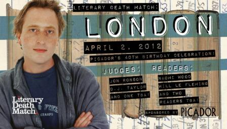 Literary Death Match poster